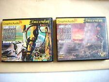 James Axler--DEATHLANDS Lot of 2 Graphic Audio CD SHADOWFALL MOONFEAST 26 95