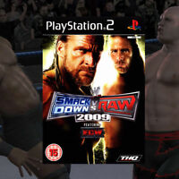 WWE SmackDown vs Raw 2009 PS2 PlayStation 2 Game | Brand New & Sealed
