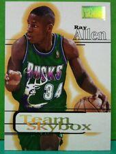 Ray Allen subset card Team Skybox 1997-98 Skybox Premium #225