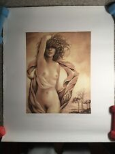 Albert Belasco Color Engraving Original Print Graphic Signed Limited Ed of 180