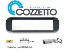 Mascherina autoradio adattatore stereo con foro ISO  Lancia Y >03 03233