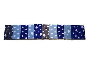Fleece Baby Wipes Reusable & Washable  x10 Twinkle Twinkle Little Star