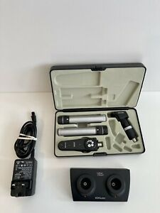 Used Keeler Specialist Direct Ophthalmoscope & Retinoscope Set 3.6v Streak