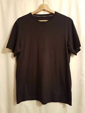 NEXT Clothing Mens Size M Black Short Sleeve T-shirt Pit to Pit is up to 19 inch