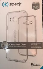 Speck CandyShell Impact Case Clear Samsung Galaxy J3 Express Prime