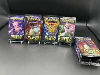 10X Pokemon Hidden Fates Booster Packs FACTORY SEALED BRAND NEW English Lot