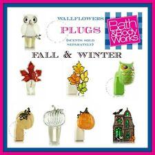Bath Body Works Wallflowers Fragrance Plug Diffuser Fall Winter Many Retired 🦉
