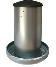 Futterautomat-Futtertrog-Futtersilo-Hühnerfutterautomat Geflügel 42 KG (41177)