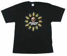 Shadows Fall Grenades Skull Black T Shirt New Official Band Merch
