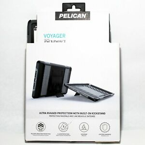 Pelican Voyager Ultra Rugged Protection Case For Apple iPad Air 2 Black Gray -