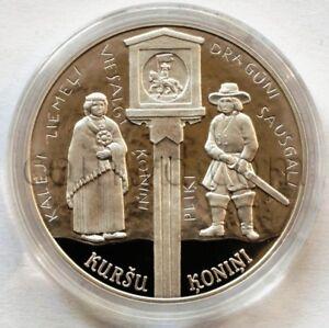 "Latvia 5 euro 2018 ""Curonian kings"" silver (#4378)"