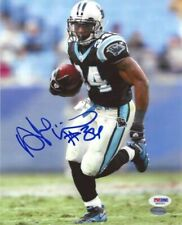 DEANGELO WILLIAMS AUTOGRAPHED SIGNED 8X10 PHOTO CAROLINA PANTHERS PSA/DNA 14999