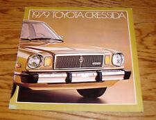 Original 1979 Toyota Cressida Sales Brochure 79