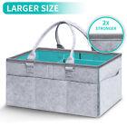 Baby Nappy Storage Bin Infant Diaper Wipes Bag Caddy Organizer Basket Nursery