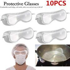 10x Safe Lab Glasses Protective Eye Goggles Chemical Eyewear Anti-Fog Eyewear CK