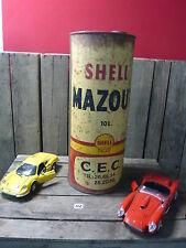Sehr seltener und alter Shell Mazout Ölkanister 10 Liter  - schöne Oldtimerdeko