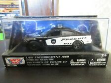 1:43 O Scale 2011 Dodge Charger Pursuit Police Package Demo Car MotorMax