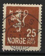 Norway 1926-34, NK 147 Son Gausa 9-1-33 (OP-Grade 5)