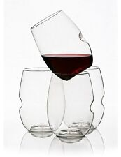 Set of Govino Wine Glass Glasses Flexible Recyclable Shatterproof FREE SHIPPING