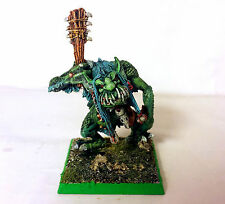 WARHAMMER FANTASY ORCS AND GOBLIN:  RIVER TROLL 1992 PRO PAINTED