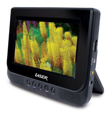 LASER DVD-PORT7-DUAL Portable DVD Player with Screen 7""