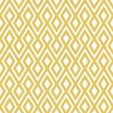 Geometric Wallpaper 3D Glitter Sparkle Textured Diamonds  Mustard White Erismann