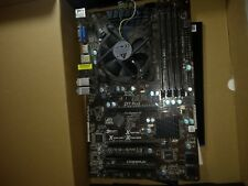 asrock z77 pro3 motherboard and Core i5 2500k