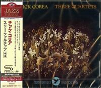 CHICK COREA-THREE QUARTETS +4-JAPAN SHM-CD D50