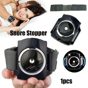 Anti Snore Infrared Wristband Intelligent Recognition Watch Solution Sleep Aid