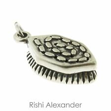 925 Sterling Silver Horse Brush Charm American Made