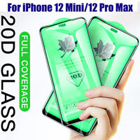 20D Curved Temper Glass Screen Film for iPhone 12 Mini 11 Pro Max 5G Protector