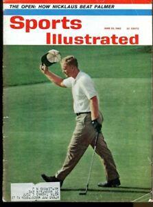 Jack Nicklaus 1962 Sports Illustrated 6/25 US Open PGA Golf 63093