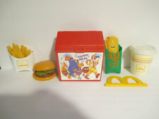 Vintage 1988 Fisher Price Fun With Food  McDonalds Happy Meal Set #2155 Complete