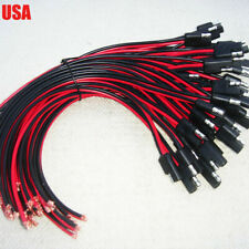 10X DC Power Cable For Motorola Repeater Mobile Radio CDM1250 GM300 GM3188 A228
