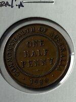 1930 Australia 1/2 Penny!!