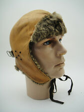 BENNETT'S ROYAL FLYING CORPS Leather HELMET Vintage AIR PILOT Aviation British