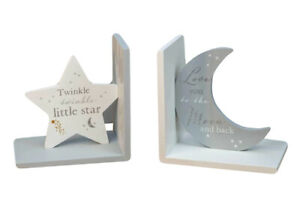 Twinkle Twinkle Little Star Childrens Bookends Love You Nursery Baby Shower Gift