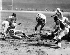 ALAN AMECHE BALTIMORE COLTS GREAT SCORES TD TO WIN 1958 CHAMPIONSHIP 8x10