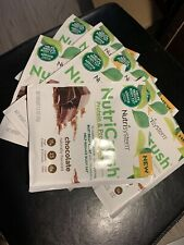 Fresh Nutrisystem Nutricrush Protein  Probiotic Shake 7 packets chocolate