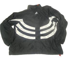 Adidas Predator Jacket Large Pullover Partial Zip Mesh accelerator Windbreaker