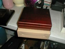 NEW in Box Thompson Cherry Wood Cigar Humidor #955104 with Filter SEE