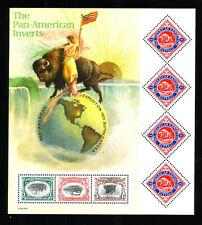 US #3505 Pan American Inverts Souvenir Sheet Mint Never Hinged