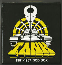 TANK  JAPAN BOX  Empty  1981 - 1987  Mini LP CD  Honour Return War Hades Power