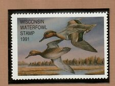 WI14 - Wisconsin State Duck Stamp. MNH. OG.