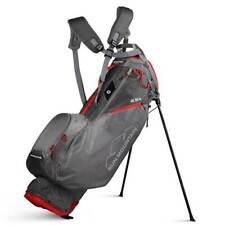New 2020 Sun Mountain 2.5+ Stand Bag (Gray / Gunmetal / Red)