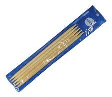 Bambus Strumpfstricknadeln Nadelspiel Gr. 6 20cm