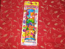 VTG Lisa Frank Colorful Easter Kaleidoscope Toy Cat Kitten Chick Flowers MIP New