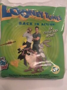 Wendys Looney Tunes Back In Action Back Lot Cart 5 Daffy Duck Wind Up Car 2003