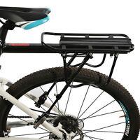 RockBros Bike Rear Rack Alloy Backseat Quick Release Frame Carrier Holder Black