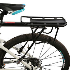 RockBros Bike Rear Rack Alloy Backseat Quick Release Black Frame Carrier Holder
